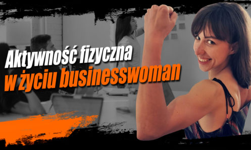 BusinessWoman aktywność fizyczna